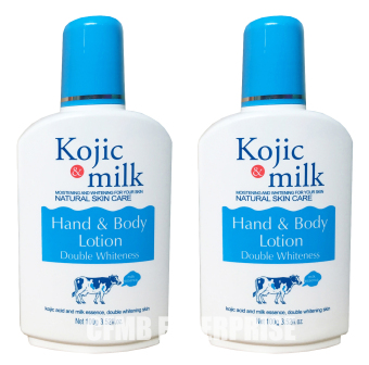 Andrea Secret Kojic & Milk Hand and Body Lotion 100g, Set of 2