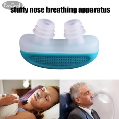 PHP 377 EsoGoal Anti Snoring Snore Free Snore Stopper Magnetic Silicone Nose Clip Sleeping ...