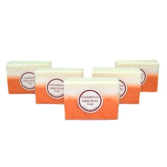 Glutathione Whitening Beauty Soap Set of 5 product preview, discount at cheapest price