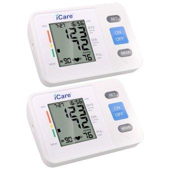 icare ck806 upper arm electronic blood pressure monitor irregular heartbeat detector who. Black Bedroom Furniture Sets. Home Design Ideas