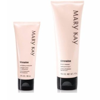 Mary Kay Timewise Skin Care Basic Set Normal To Dry (3-In-1 Cleanser And Age Fighting Moisturizer)