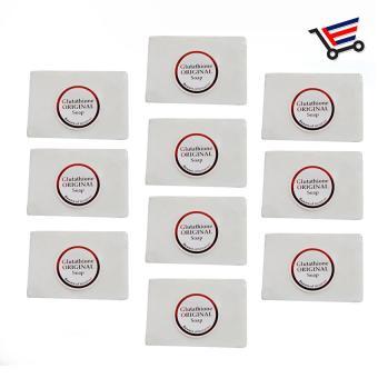 White Glutathione Whitening Beauty Soap 10pcs