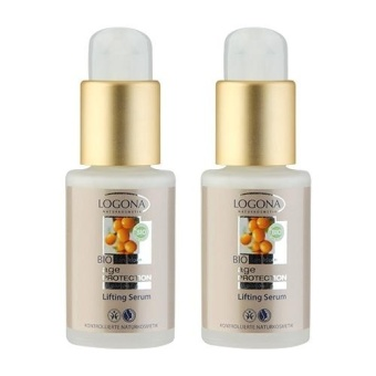 2 x LOGONA Age Protection Lifting Serum 1oz, 30ml - intl