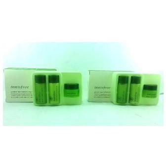 Korean Cosmetics Innisfree Green Tea Balancing Special Kit Set of 2