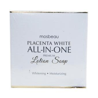 Mosbeau Placenta White All-in-One Premium Lotion Soap