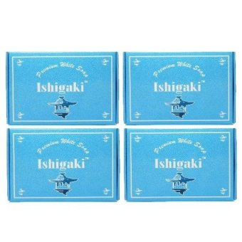 ISHIGAKI PREMIUM WHITENING SOAP 150G SET OF 4