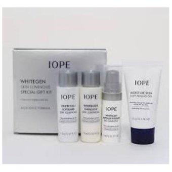Korean Cosmetics Iope Whitegen Skin Luminous Gift Set 4pcs