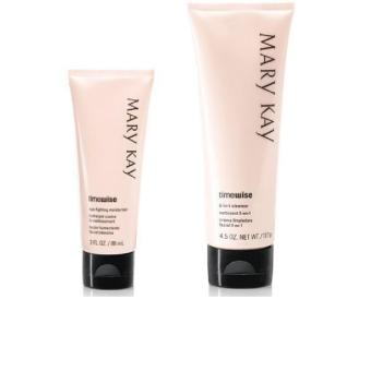 Mary Kay Timewise Skin Care Basic Set Combination to Oily (3-in-1 Cleanser and Age Fighting Moisturizer)