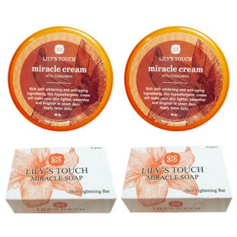 Lily's Touch 2 Miracle Cream and 2 Miracle Soap Bundle