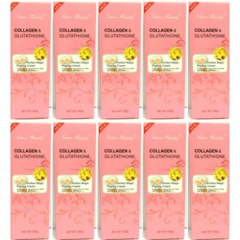 Nature Beauty Collagen and Glutathione Peeling Cream 100g Bundle of 10