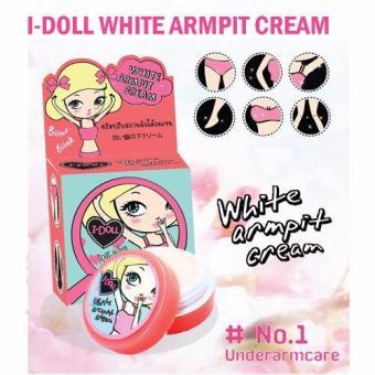 I-Doll White Armpit Cream Underarms Bikini Whitening Lightening Pink Nipples 5gm