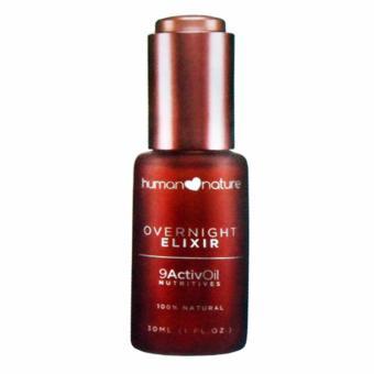Human Nature Overnight Elixir 9ActivOil Nutritives Facial Oil 30ml