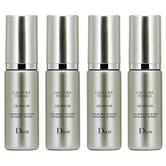 4 x Christian Dior Capture Totale Le Serum Total Youth Skincare Intensive Replumping Action 0.23oz, 7ml (sample/ ) - intl