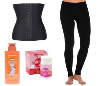 Jailevs Slimming Set of 4 (Corset + Leggings + Capsules ...