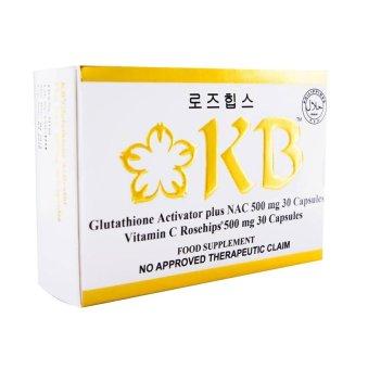 KB Glutathione Activator plus NAC 500mg Capsule 30's