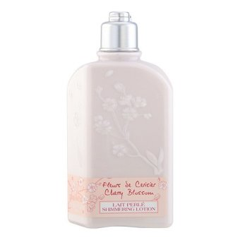 L'Occitane Cherry Blossom Shimmering Lotion 8.4oz/250ml