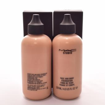 MAC Face and Body Foundation 120ml NC4 Bottle of 2