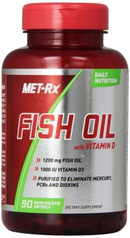 Met rx fish oil with vitamin d 90 soft gels lazada ph for Vitamin d fish