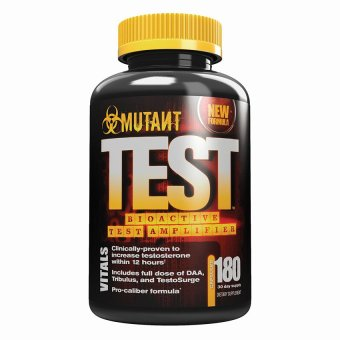 Mutant Test Bioactive Testosterone Amplifier Bottle of 180 Lazada PH