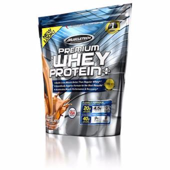 NEW LOOK! Muscletech Premium Whey Protein Plus 5lbs for MuscleBuilding and Recovery Deluxe Chocolate