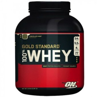 Optimum Nutrition Gold Standard 100% Whey Protein 5lbs (Chocolate)