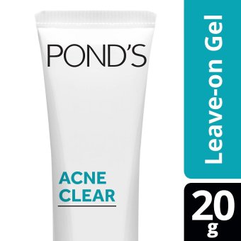 PONDS ACNE CLEAR LEAVE-ON CLEARING GEL 20G