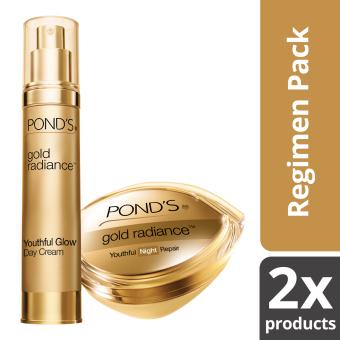 Pond's Gold Radiance Day to Night Cream Regimen Pack