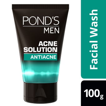 Pond's Men Facial Wash Acne Solution 100g
