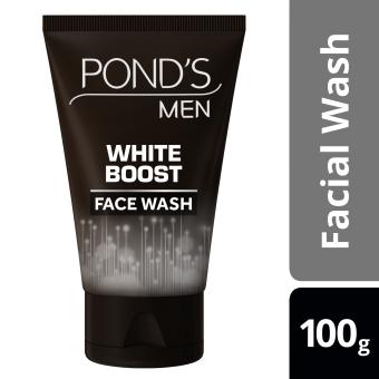 PONDS MEN FACIAL WASH WHITE BOOST 100G