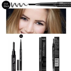 Professional Double Headed With Brush Automatic Rotating Eyebrow Pencil - intl Philippines