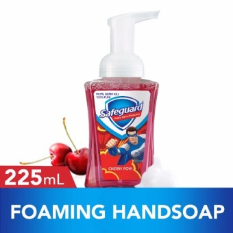 Safeguard(TM) Cherry Pow Foaming Hand Wash 225ml