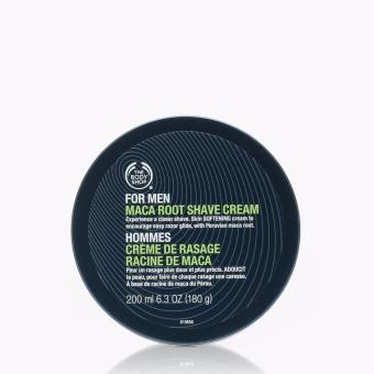 The Body Shop for Men Maca Root Shave Cream 125mL