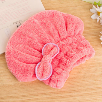 Thick long hair headscarf quick-drying towel