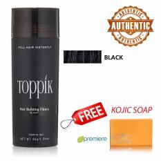 PHP 1.450. TOPPIK Hair Buidling Fibers (BLACK) ...