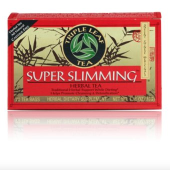 Triple Leaf Tea Super Slimming Herbal Tea 20 Tea Bags