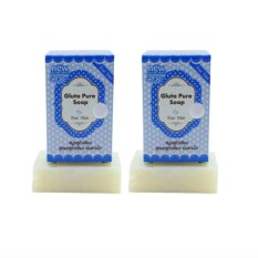 Wink White Gluta Pure Soap with SPF 50 70g Set of 2 with free Silicone Digital Watch ( color may vary) Philippines