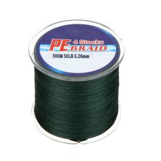 500M 50LB Colorful 4 Strands Multifilament PE Braid Fishing Line 7 Colors (Black)PHP658. PHP 658
