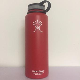 Hydro Flask 40oz(1.18L) Hydro Flask Bottle Insulated Stainless Steel Water Bottle , Standard Mouth with Loop Cap ,Outdoor Coolers Stainless Steel Insulation Cup Cars Beer Mug