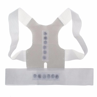 Magnetic Posture Humpback Support Corrector Belt Back Brace Strap(Small)