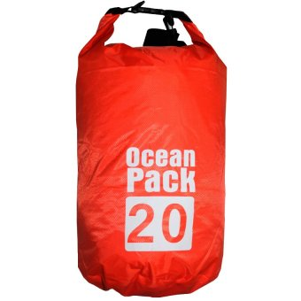 Ocean Pack Portable Barrel-Shaped Waterproof Dry Bag 20L