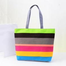 ... Embossing Nubuck Leather Source · 360DSC Hennes Stripe Portable Bags Canvas Bags Fashion Arder Single Shoulder Bags Rosy Stripe Intl