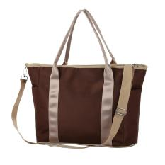 360DSC Multifunction Diaper Tote Bags Baby Large Capacity Mummy Shoulder Bag Handbag - Coffee - Intl