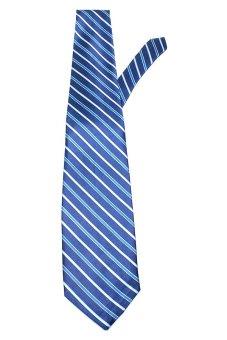 Aktive NT-11 Necktie Stripe Blue