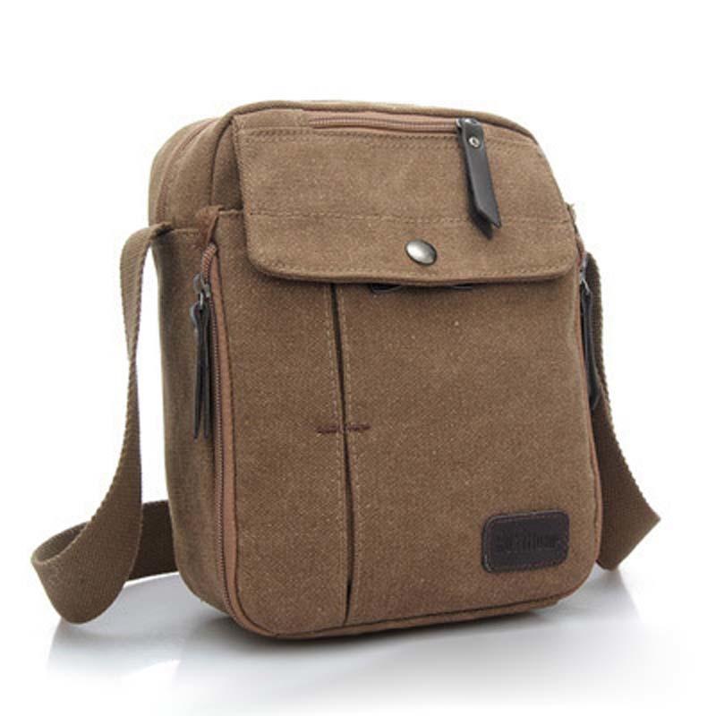 Amart Vintage Canvas Crossbody Bag Shoulder Sport Messenger Bags ...