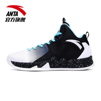 ANTA autumn New style KT slip boots basketball shoes (Dark blue black/bright blue/ANTA white)