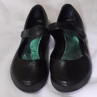 Black Shoes for Kids Water Proof No need to shine size 30'
