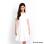 Blacksheep Plain White Skater Dress (Off White)