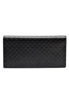 Borenyas BY-004-3 Long Wallet Clutch (Black) - picture 2