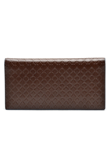 Borenyas BY-004-3 Long Wallet Clutch (Brown) - picture 2