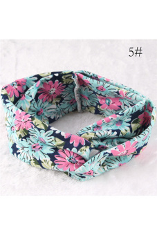 Buytra Women Headband Floral Wide Stretch No.5 - picture 2